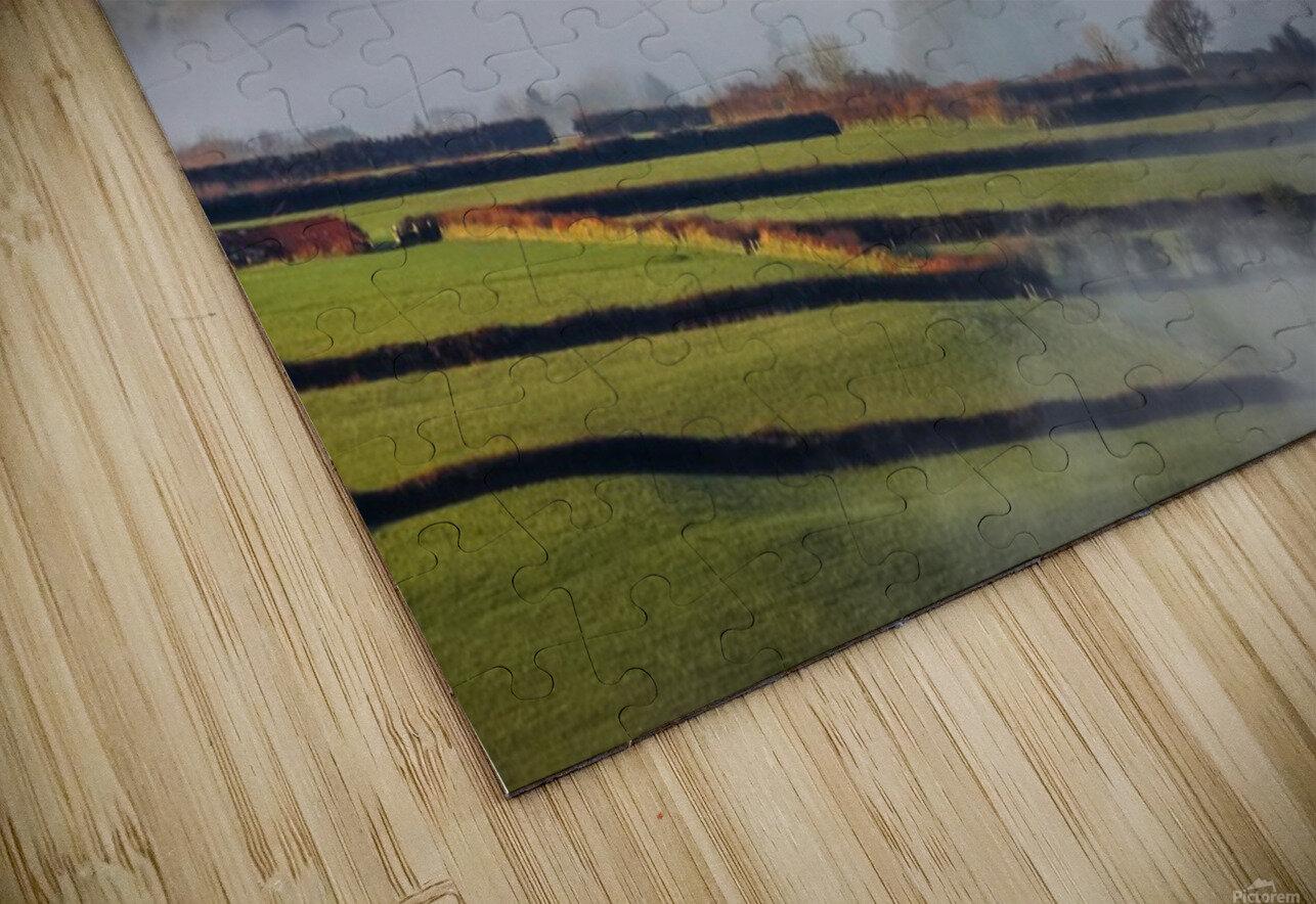 Agricultural mist HD Sublimation Metal print