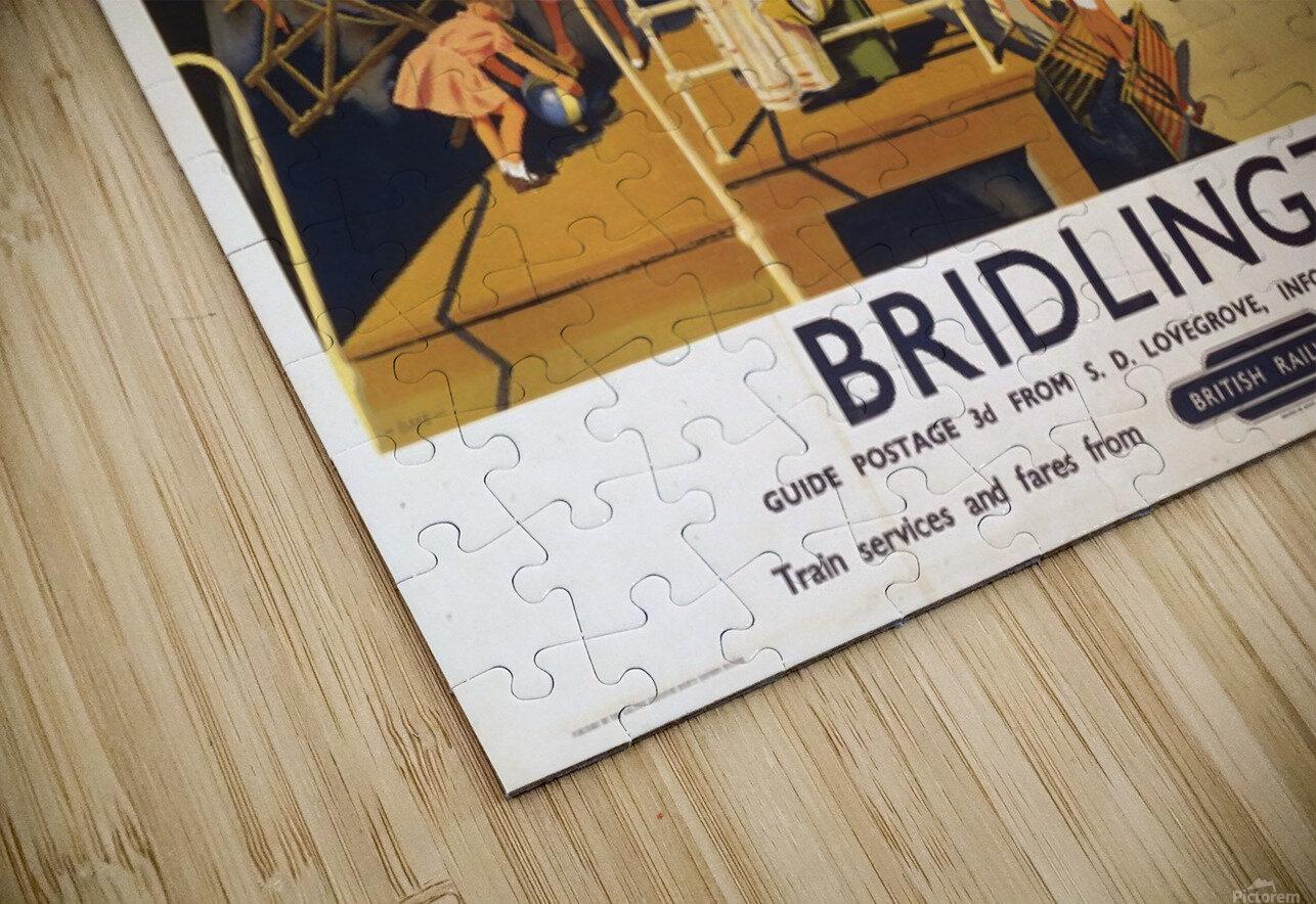 Bridlington poster Blake, F Donald 1950 HD Sublimation Metal print