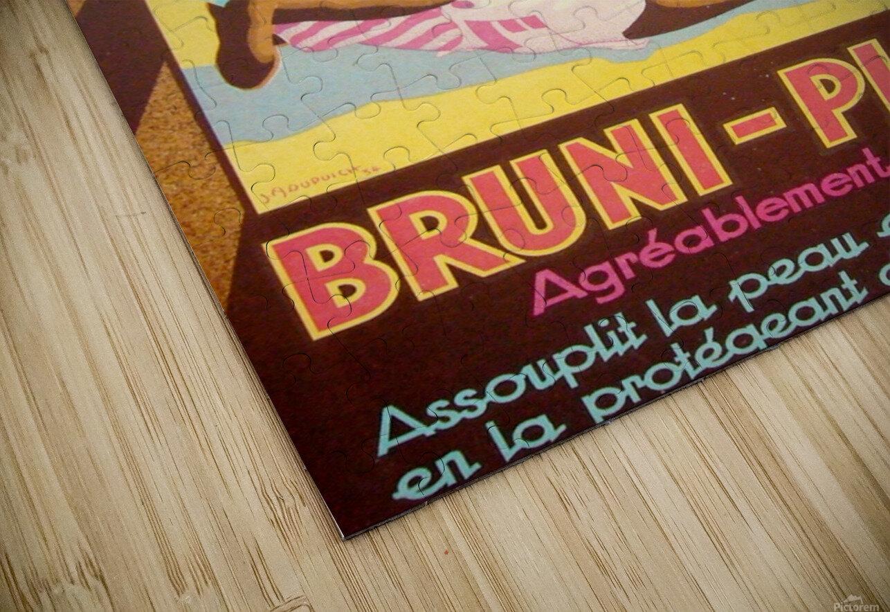 Bruni Plage HD Sublimation Metal print