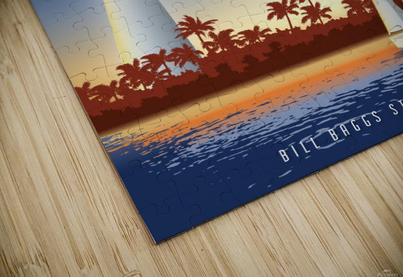 Cape Florida Lighthouse HD Sublimation Metal print