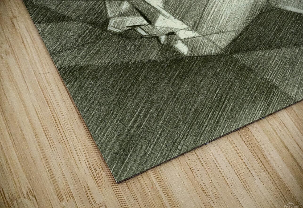 Sans titre - 30-07-14 HD Sublimation Metal print