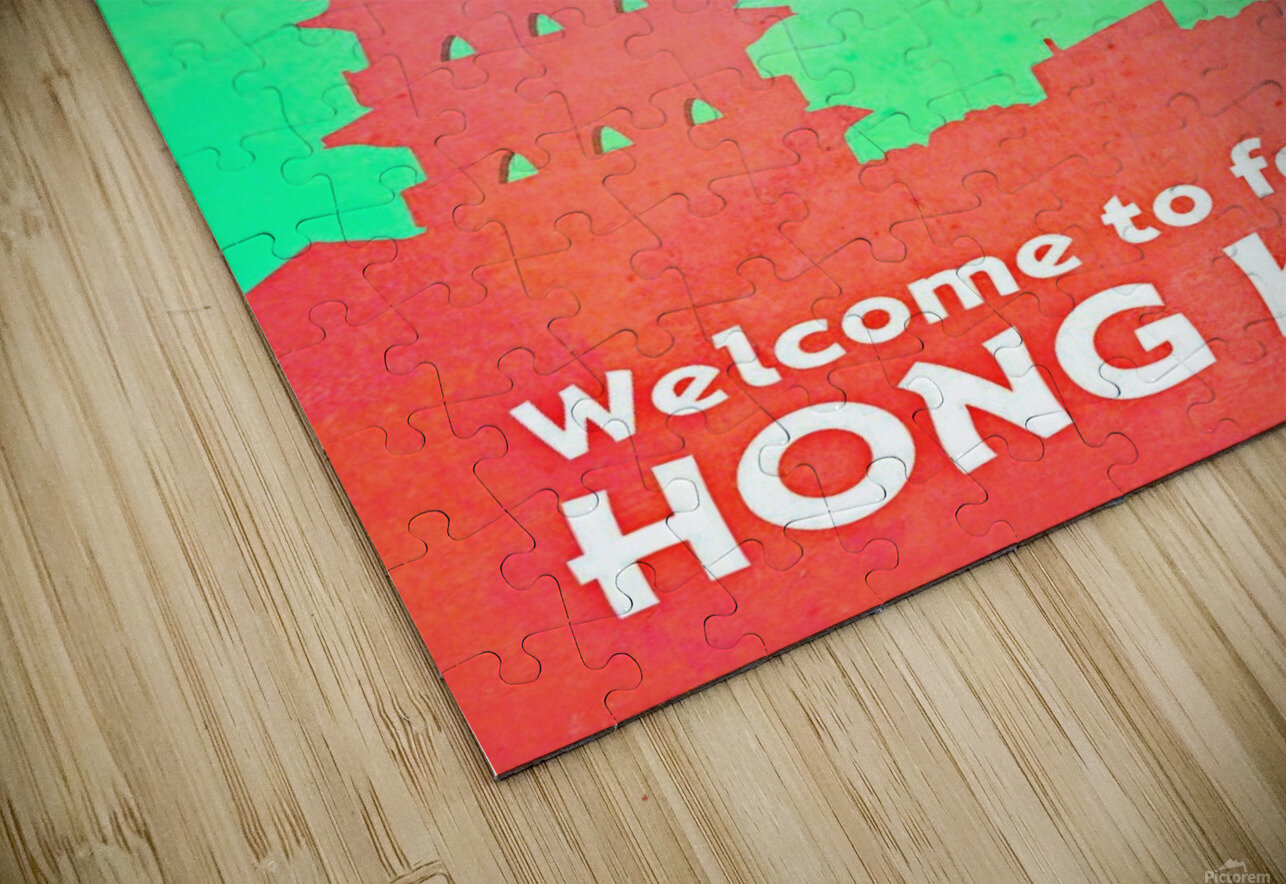 Welcome to Fabolous Hong Kong HD Sublimation Metal print