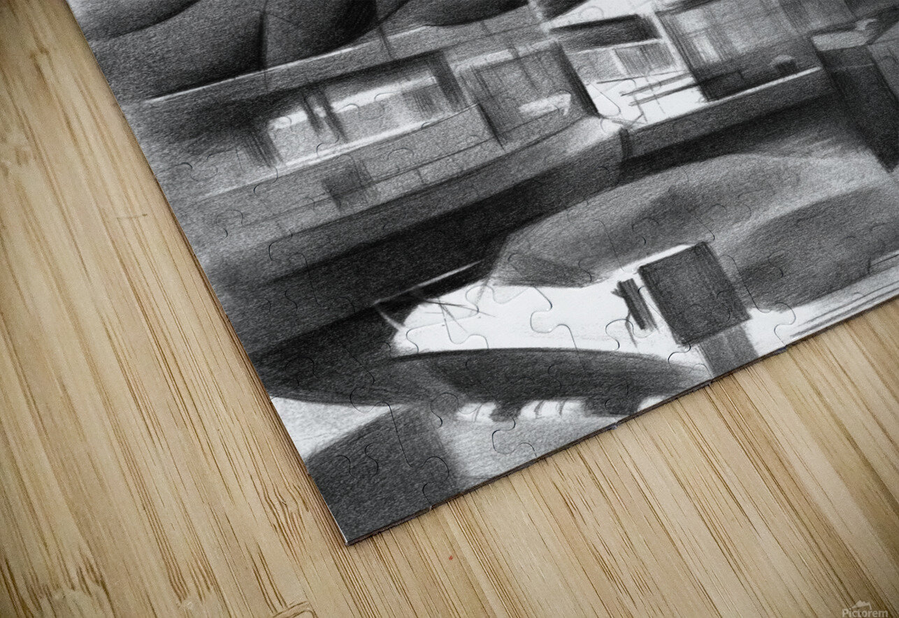 Vlaardingen - 14-09-16 HD Sublimation Metal print