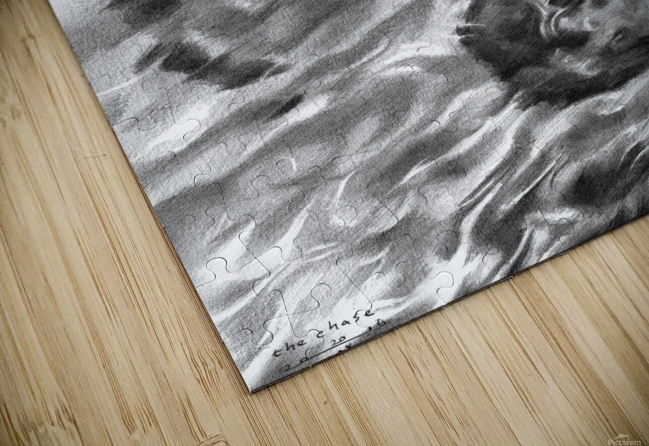 The chase - 20-09-16 HD Sublimation Metal print