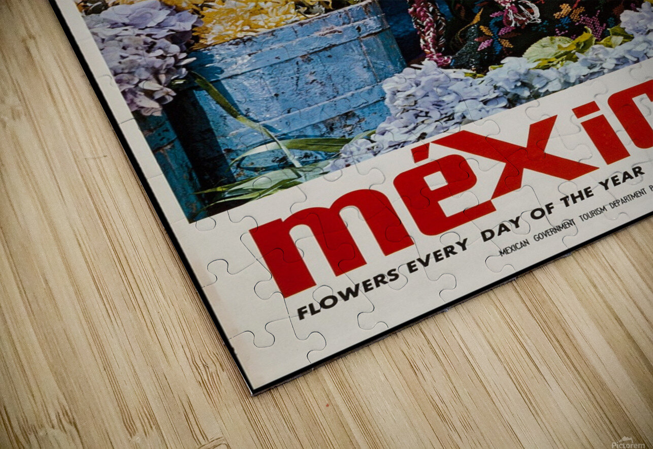 Mexico Flowers every day of the year HD Sublimation Metal print