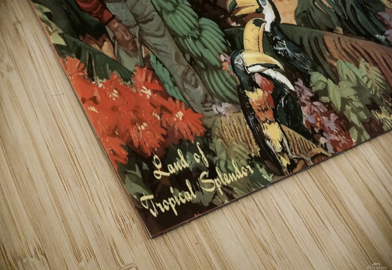 Mexico Land of Tropical Splendor HD Sublimation Metal print