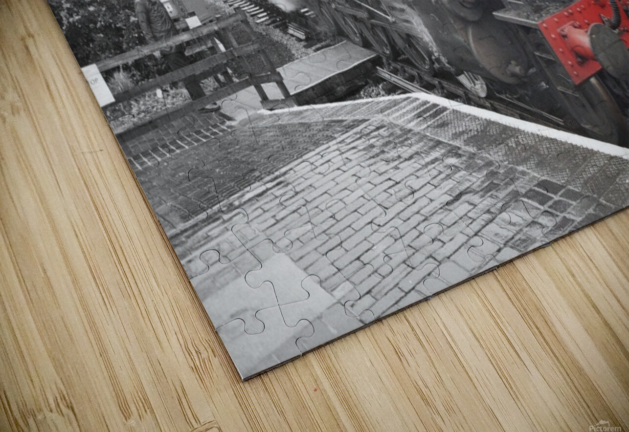 Old engine HD Sublimation Metal print