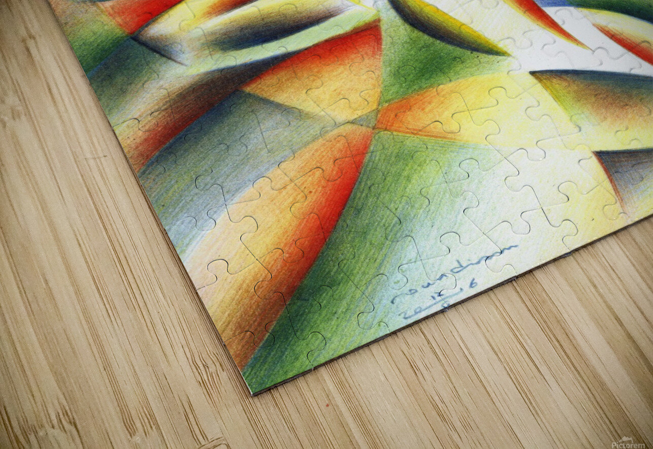 Roundism - 12-10-16 HD Sublimation Metal print