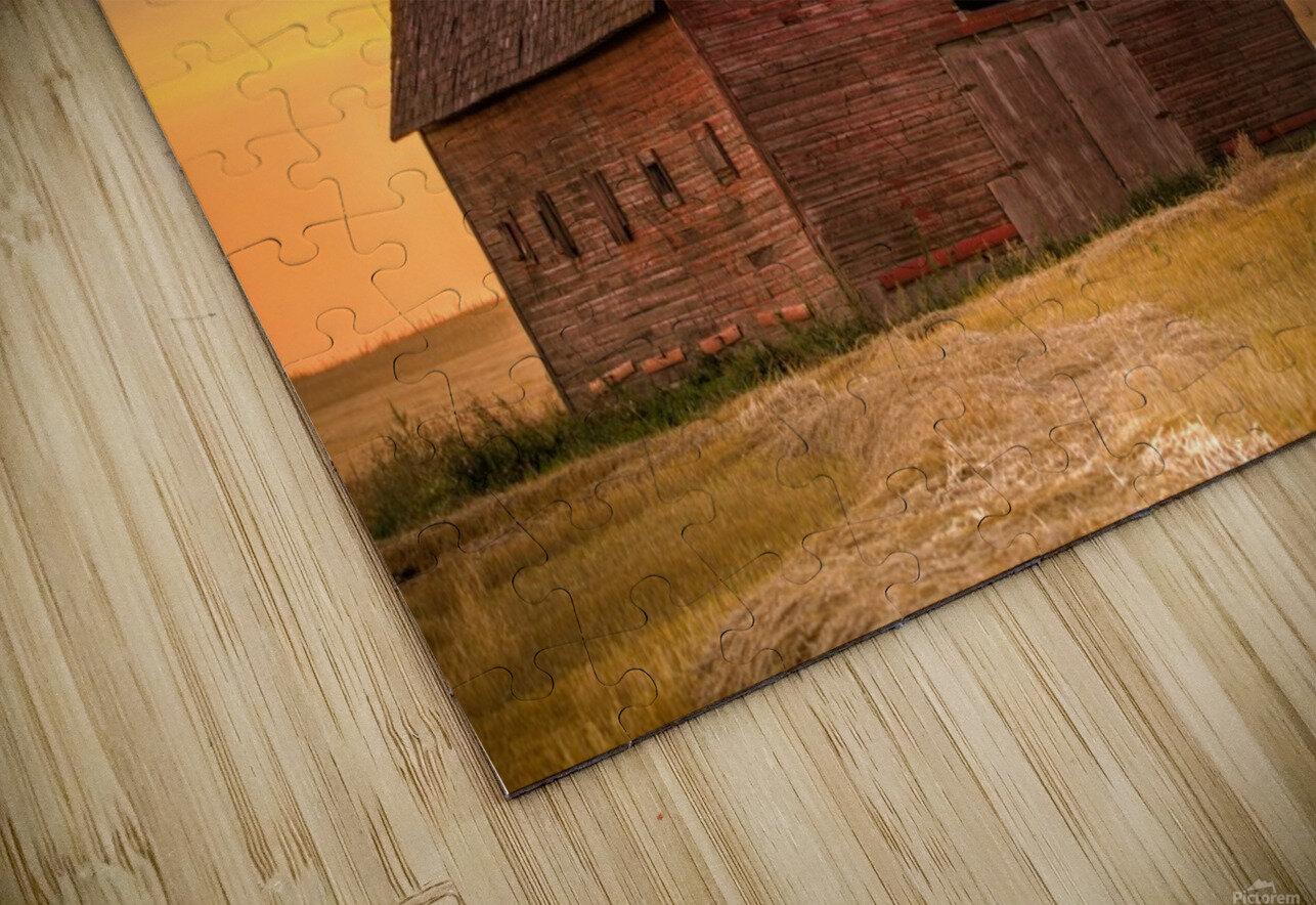 Rickety Barn HD Sublimation Metal print