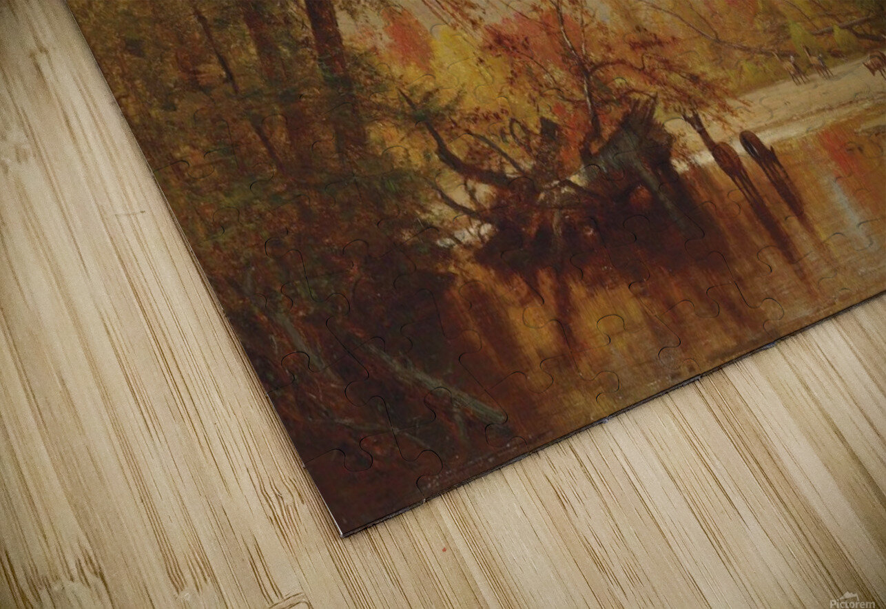 Autumn on the Delaware HD Sublimation Metal print