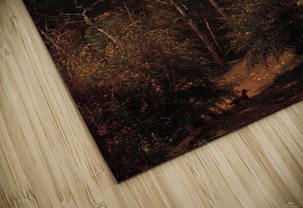 Hunter in the Woods of Ashokan HD Sublimation Metal print