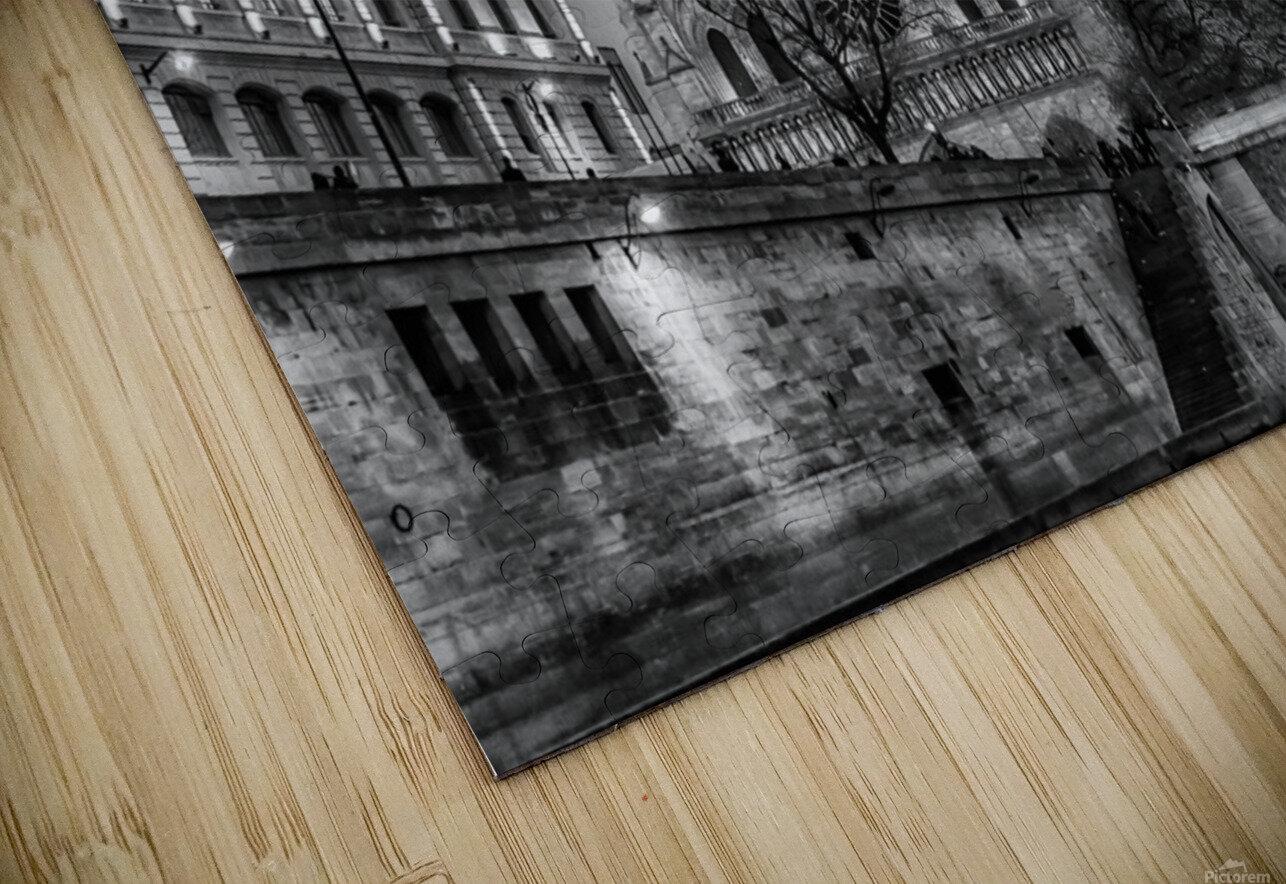 Notre Dame HD Sublimation Metal print