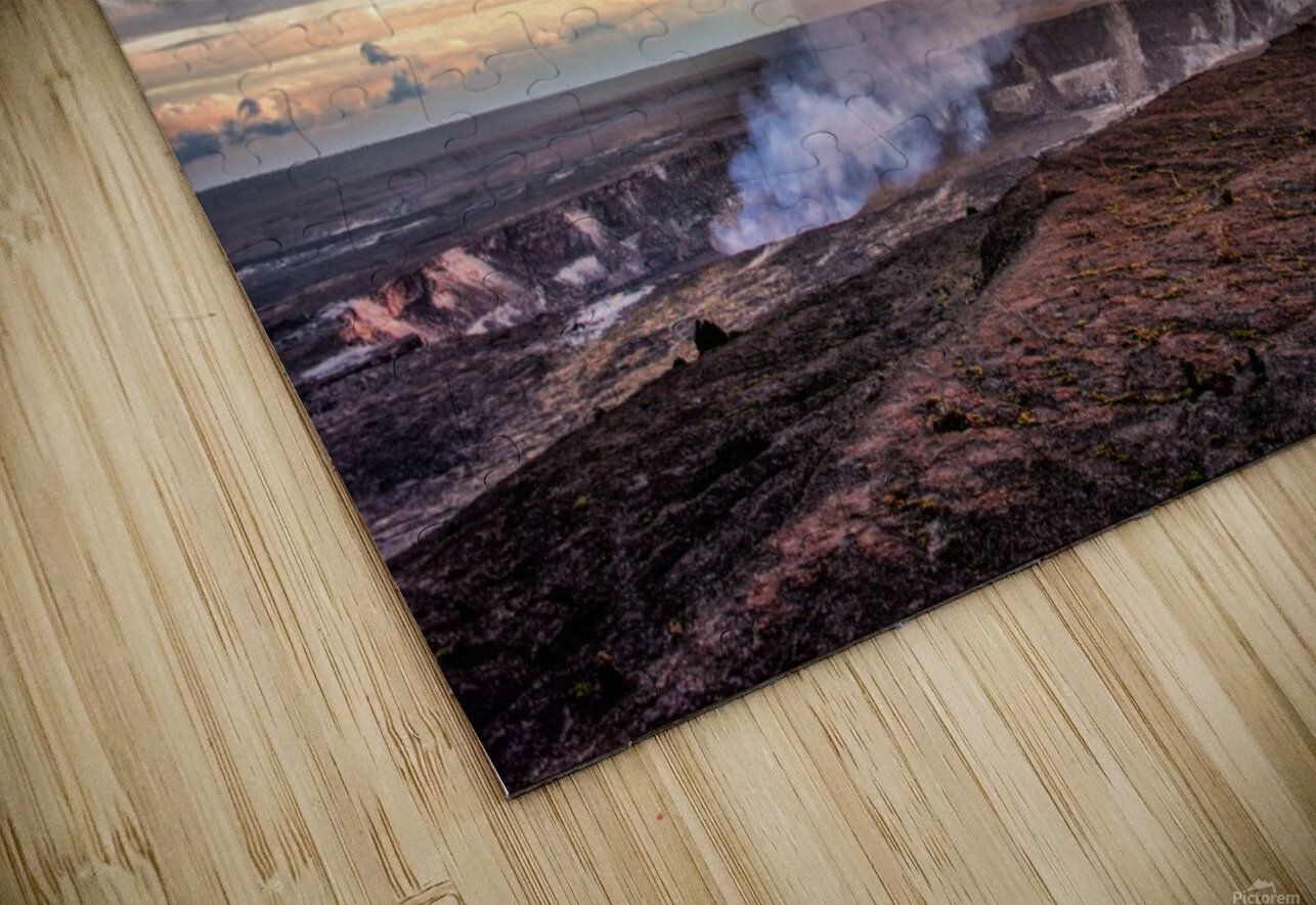 Kilauea HD Sublimation Metal print