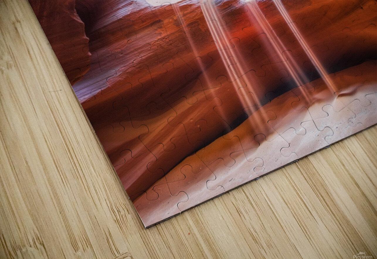 Antelope Canyon 4 HD Sublimation Metal print
