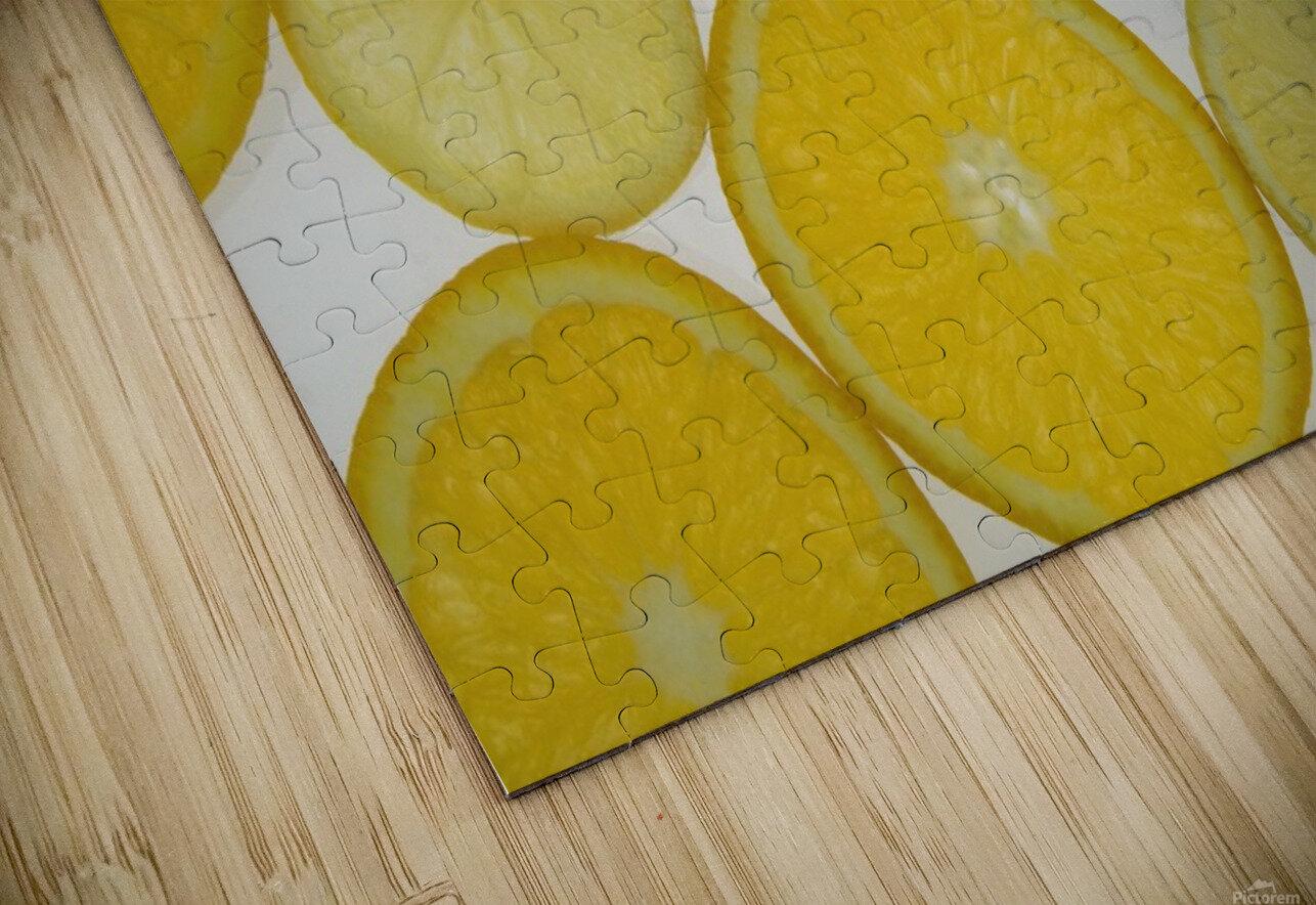 Citrus Slices HD Sublimation Metal print