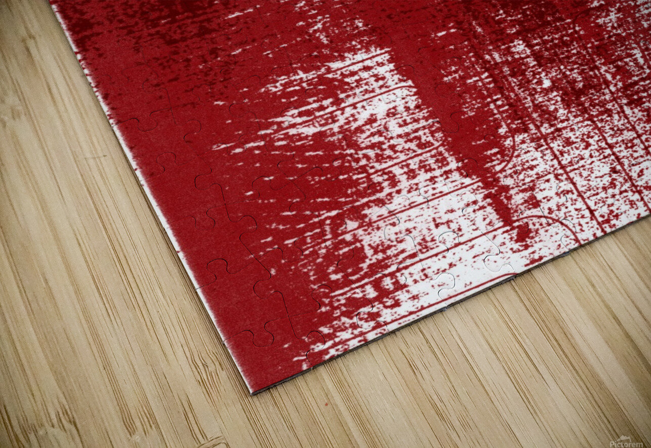 Red Texture HD Sublimation Metal print