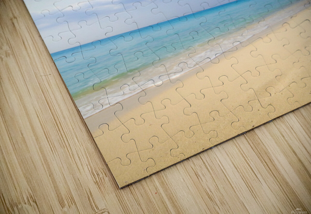 Starfish Falling In Front Of The Ocean HD Sublimation Metal print