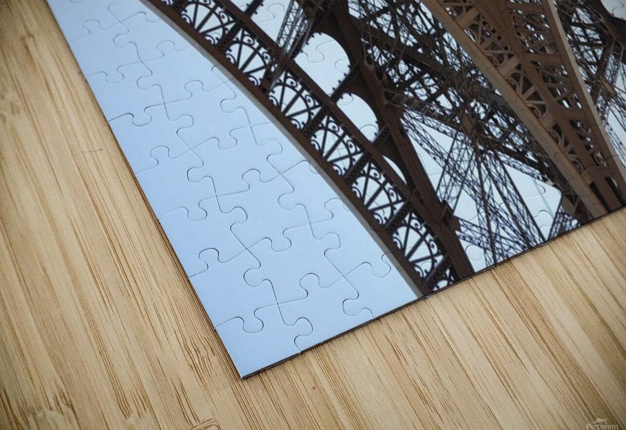 eiffel structure HD Sublimation Metal print