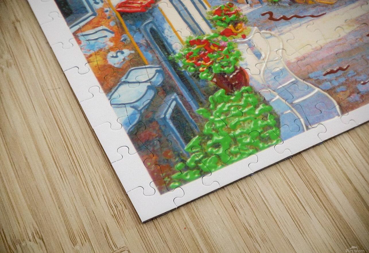 postcard HD Sublimation Metal print