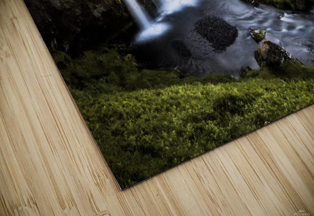 Fairy-Tale Countryside in Iceland Impression de sublimation métal HD