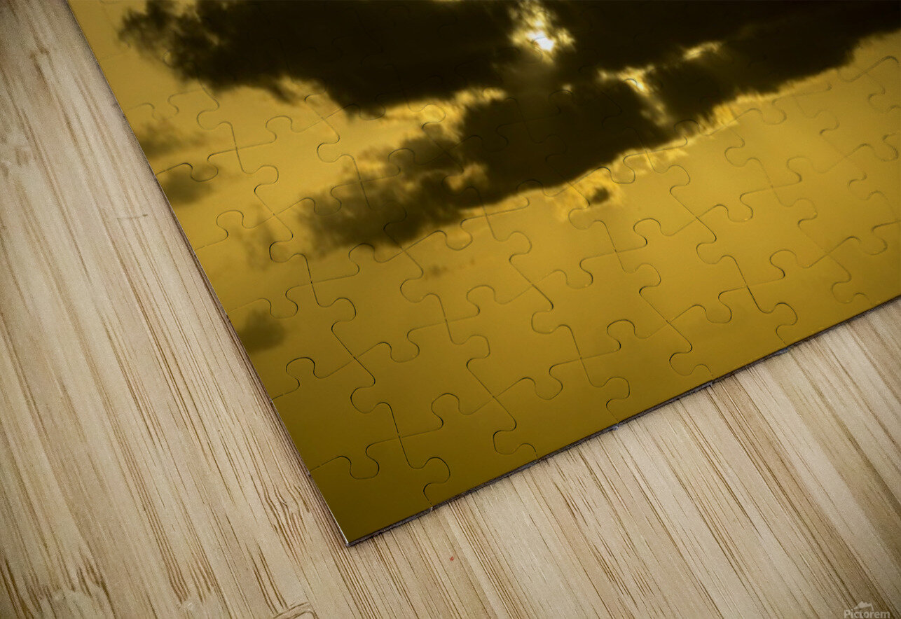 Breaking Sun HD Sublimation Metal print