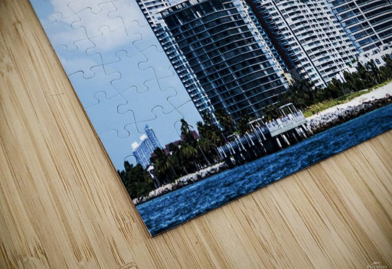 SOFI South of Fifth Miami HD Sublimation Metal print