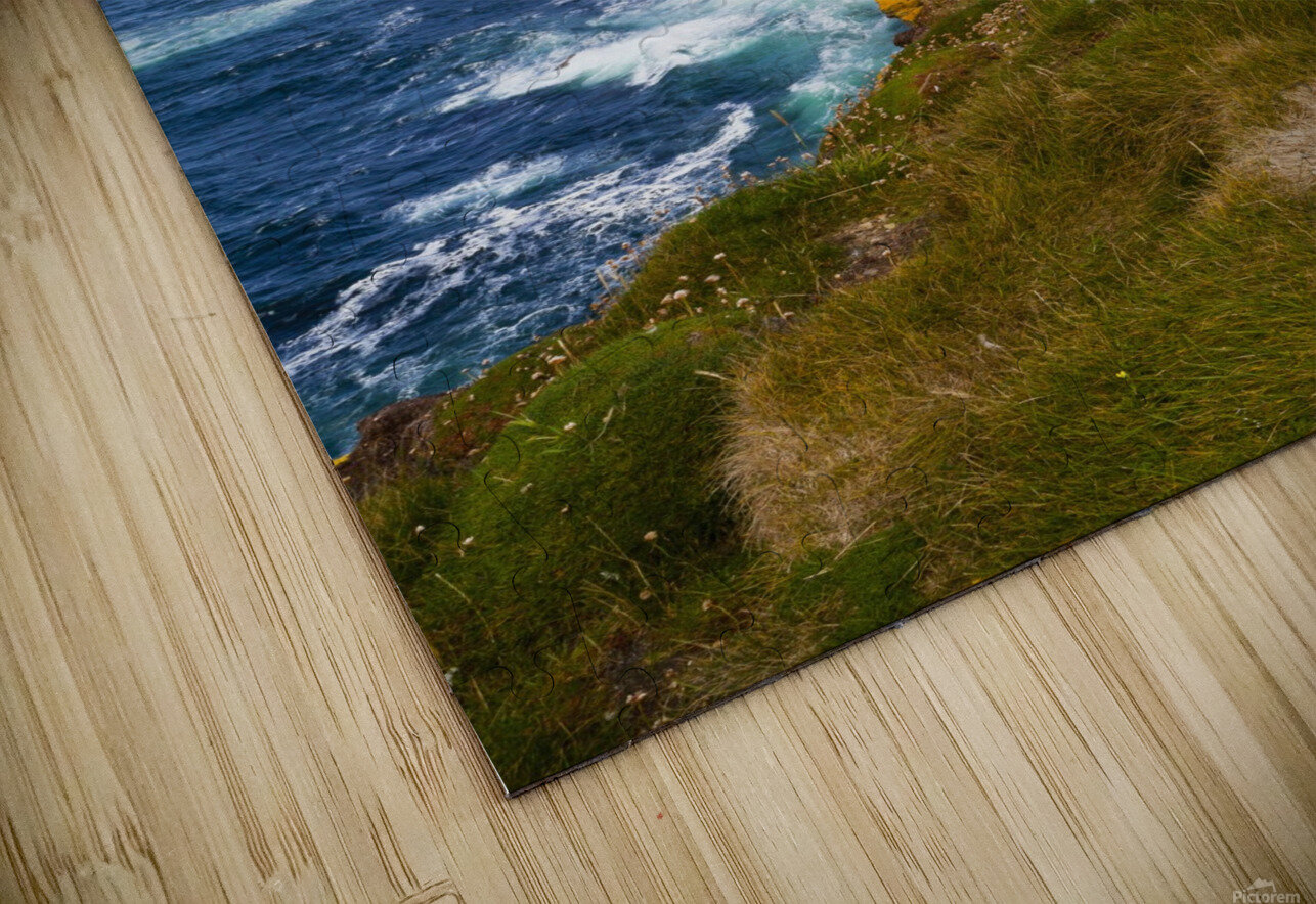 Marwick Head RSPB Nature Reserve, Kitcheners Monument; Orkney, Scotland HD Sublimation Metal print