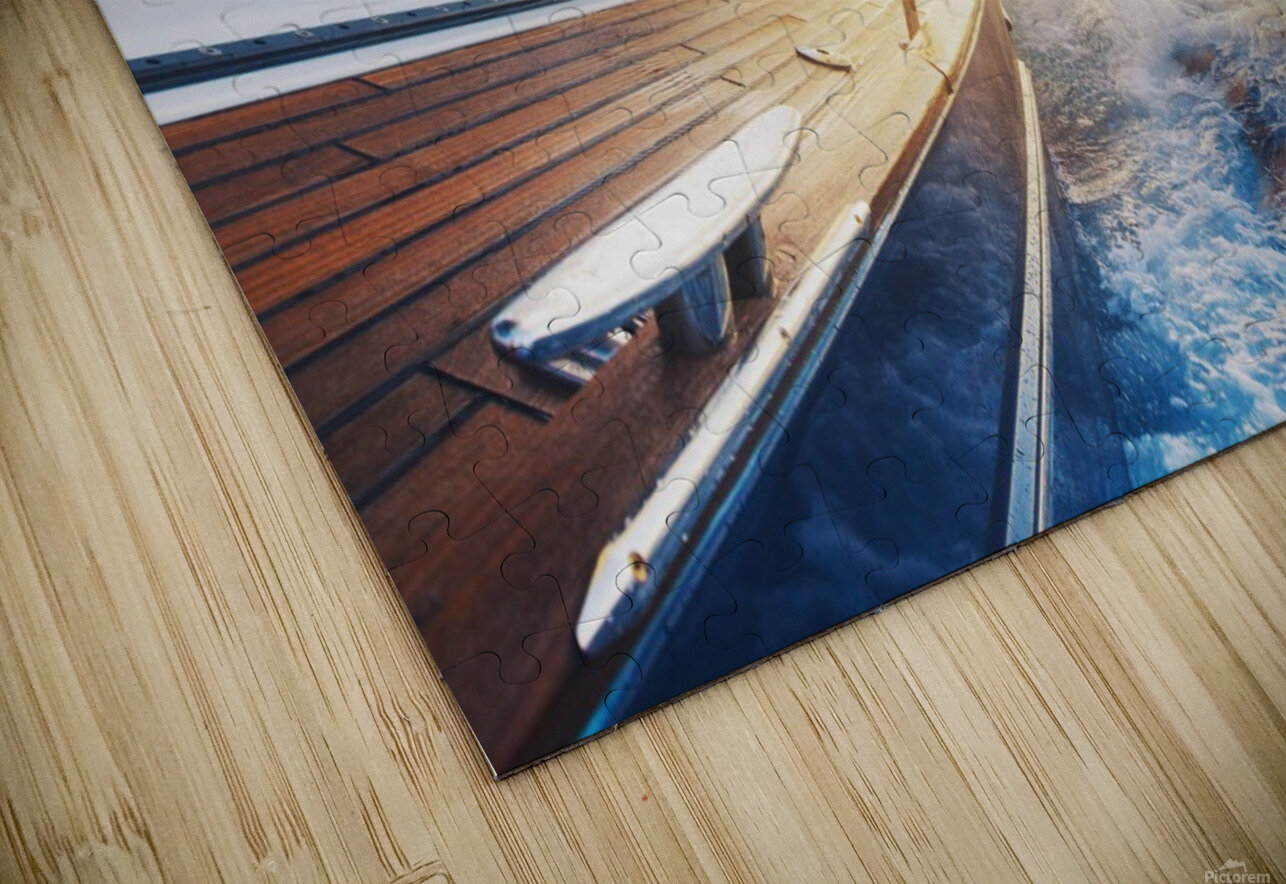 sailing into the sunset HD Sublimation Metal print