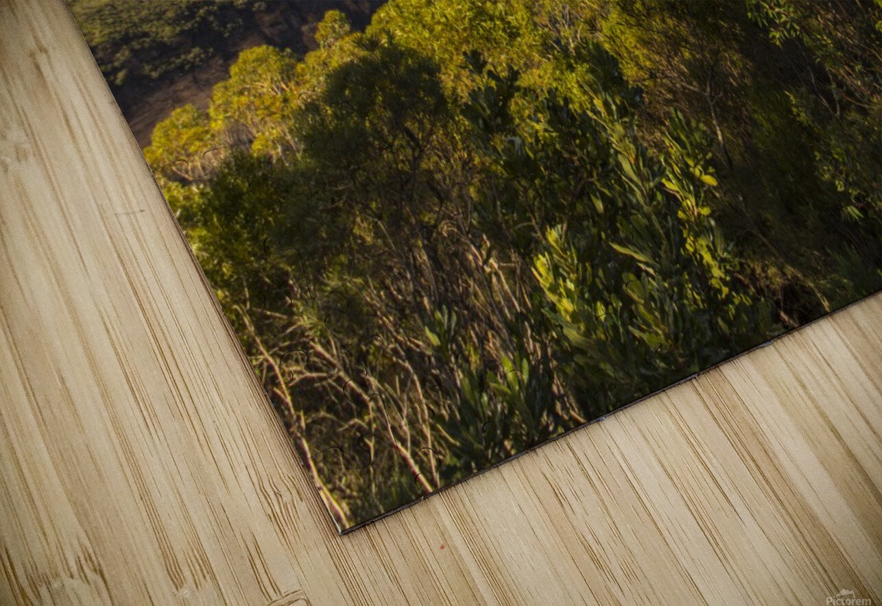 Blue Mountains HD Sublimation Metal print