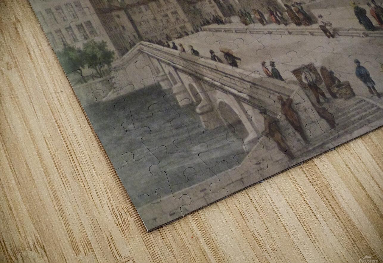 Le pont Tilsitt HD Sublimation Metal print