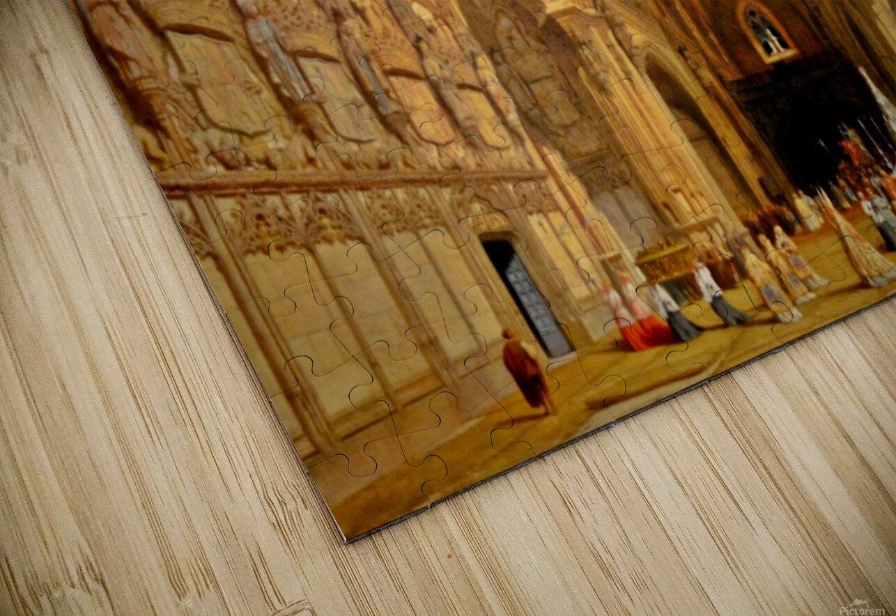 Interieur de la cathedrale Saint-Jean-des-Rois de Tolede HD Sublimation Metal print