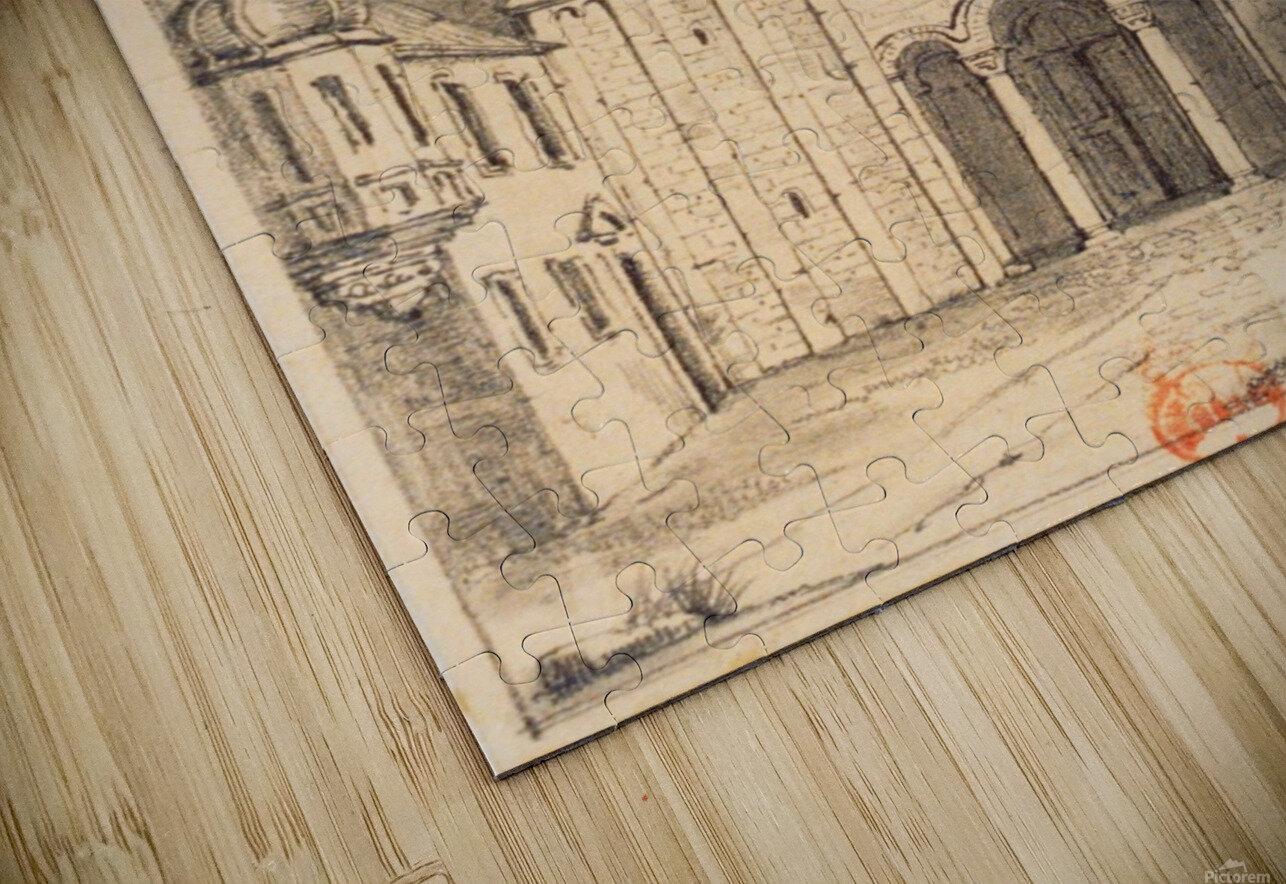 Eglise de Marrmoutier HD Sublimation Metal print