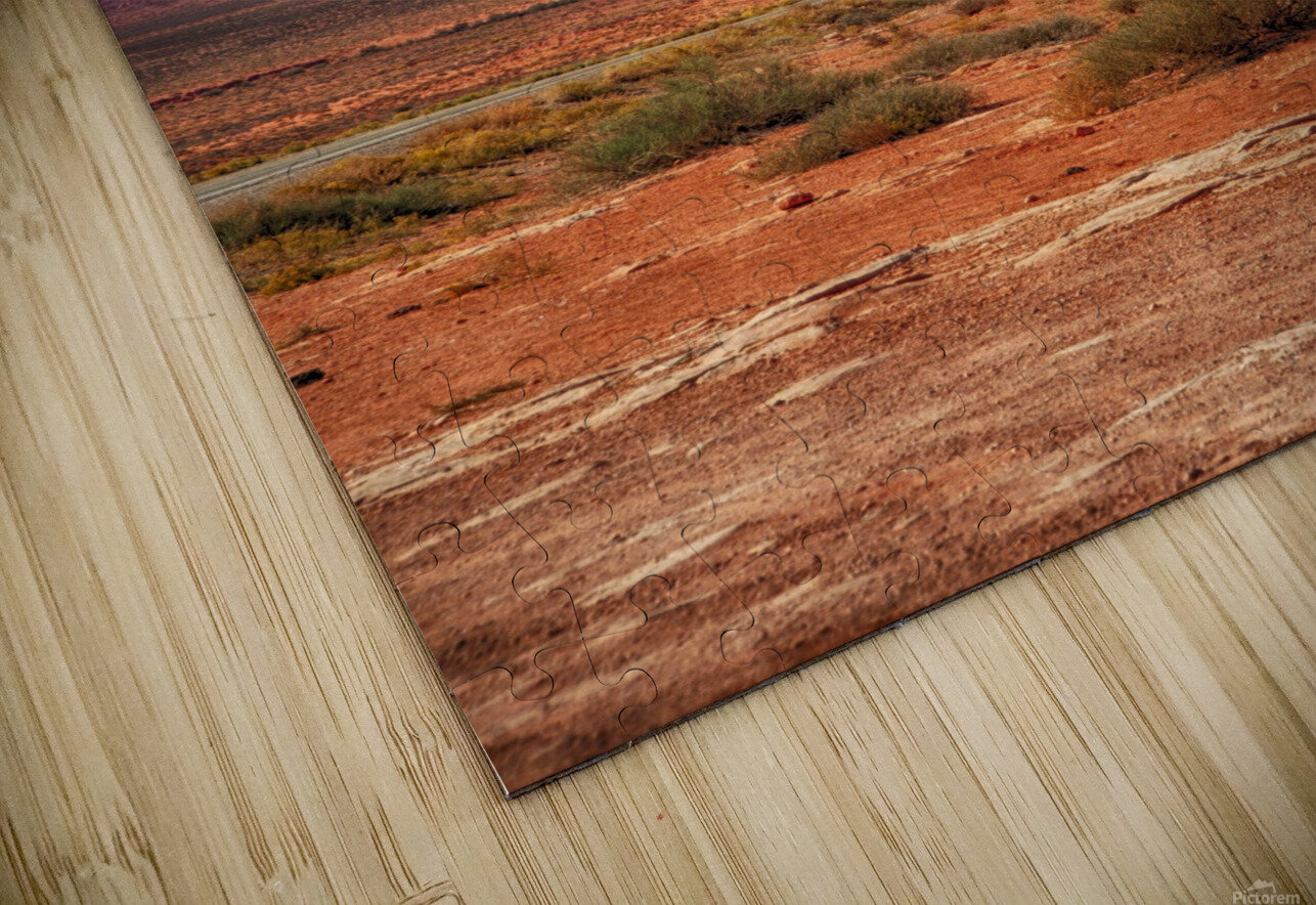 Monument Valley 1 HD Sublimation Metal print
