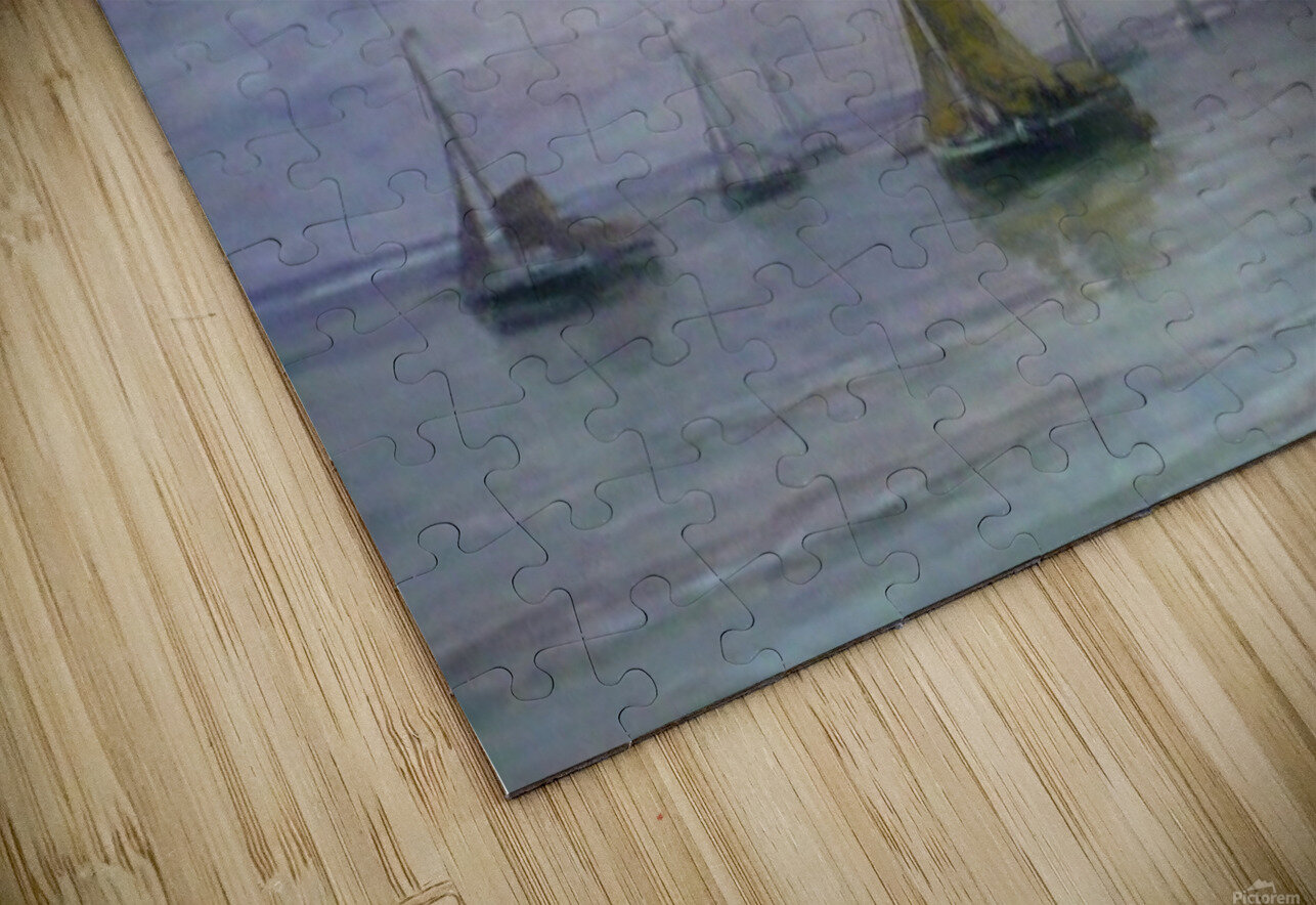Ships on anchor HD Sublimation Metal print