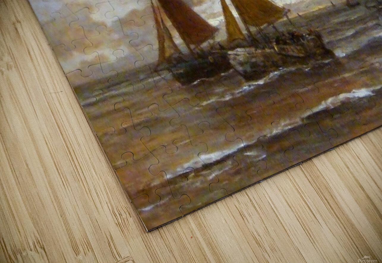Zonsondergang HD Sublimation Metal print