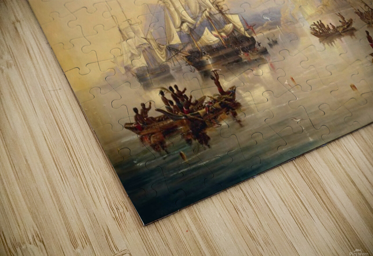 Erebus' and the 'Terror' in New Zealand HD Sublimation Metal print