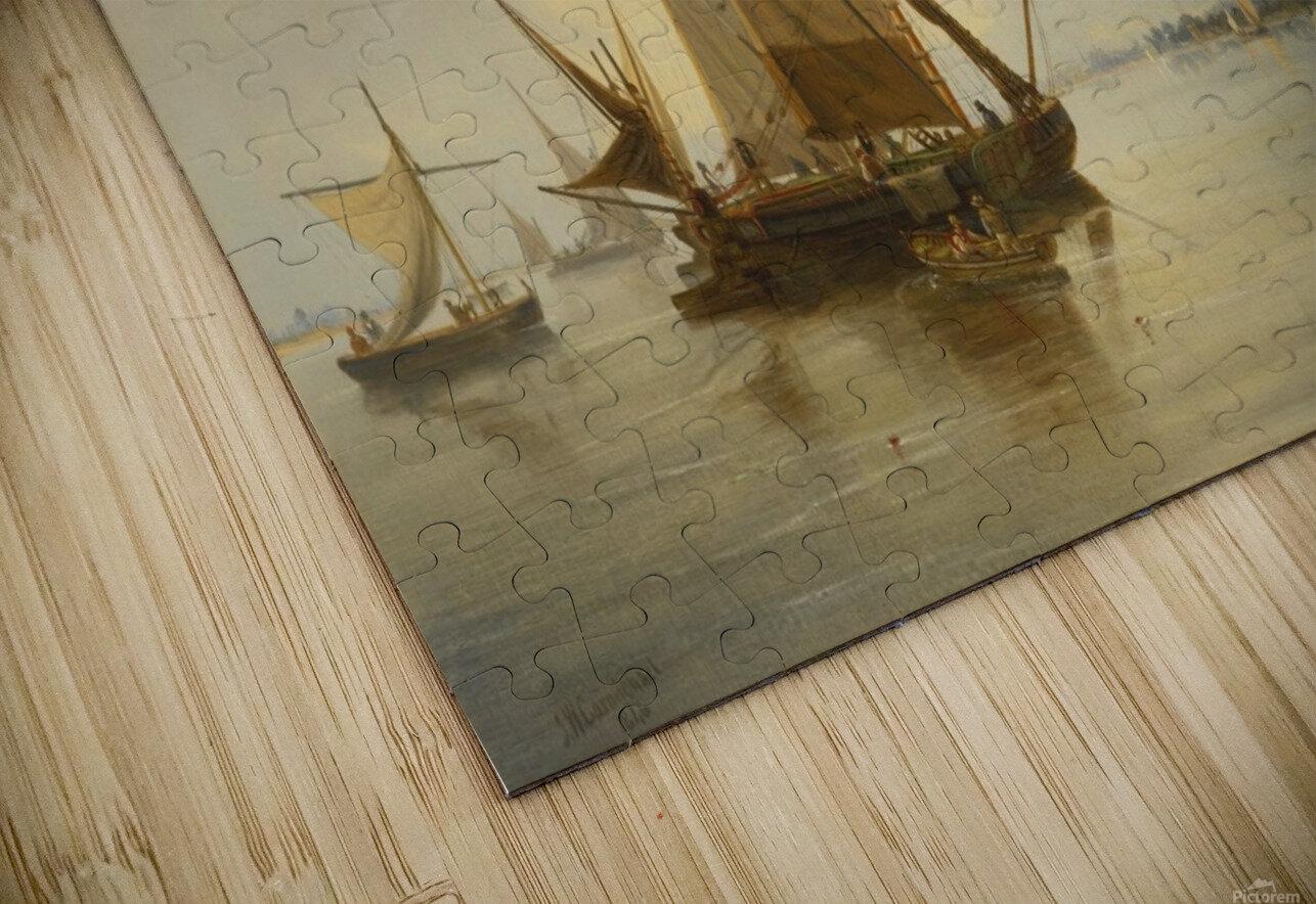 Sailing on the sea HD Sublimation Metal print
