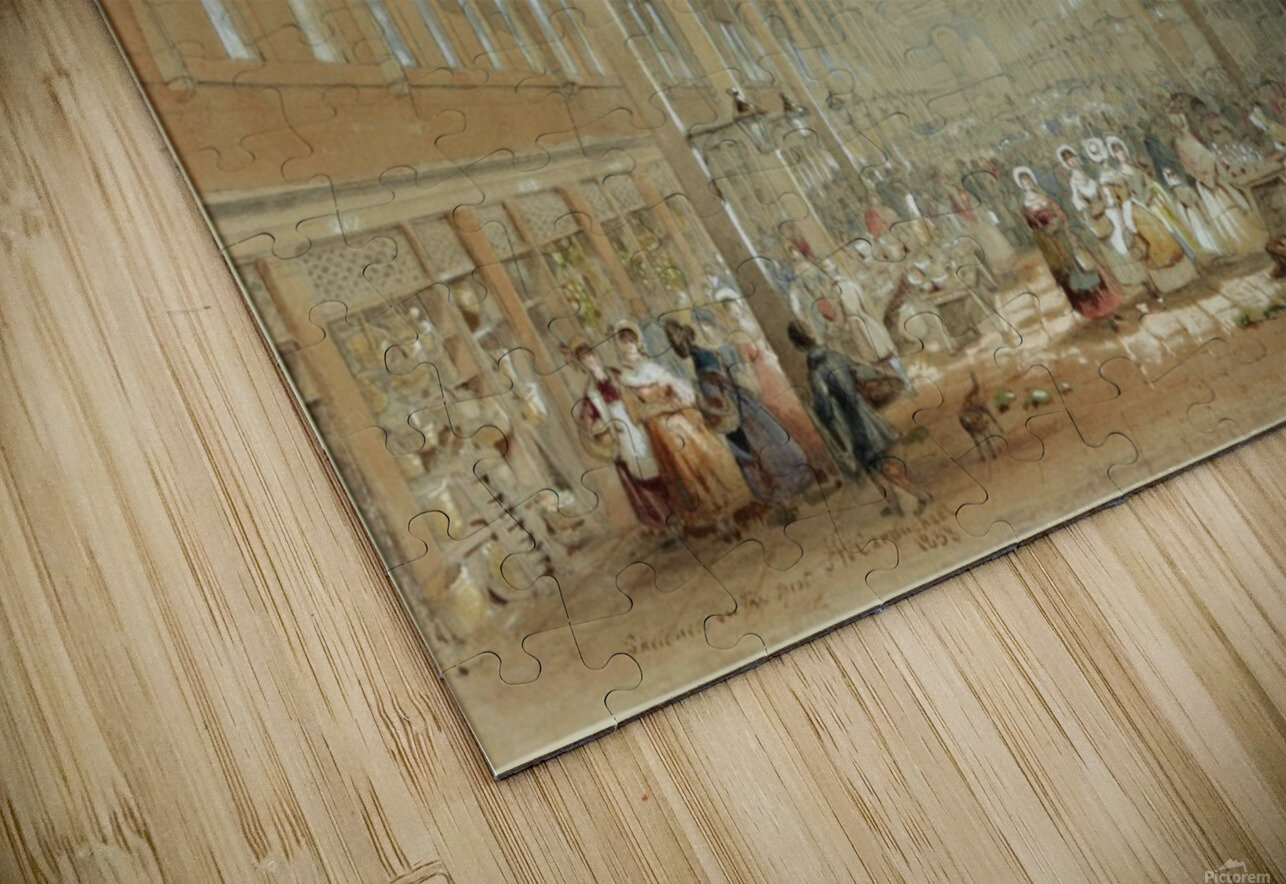 Newcastle great hall HD Sublimation Metal print
