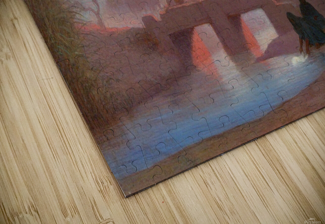 Environs du Caire HD Sublimation Metal print