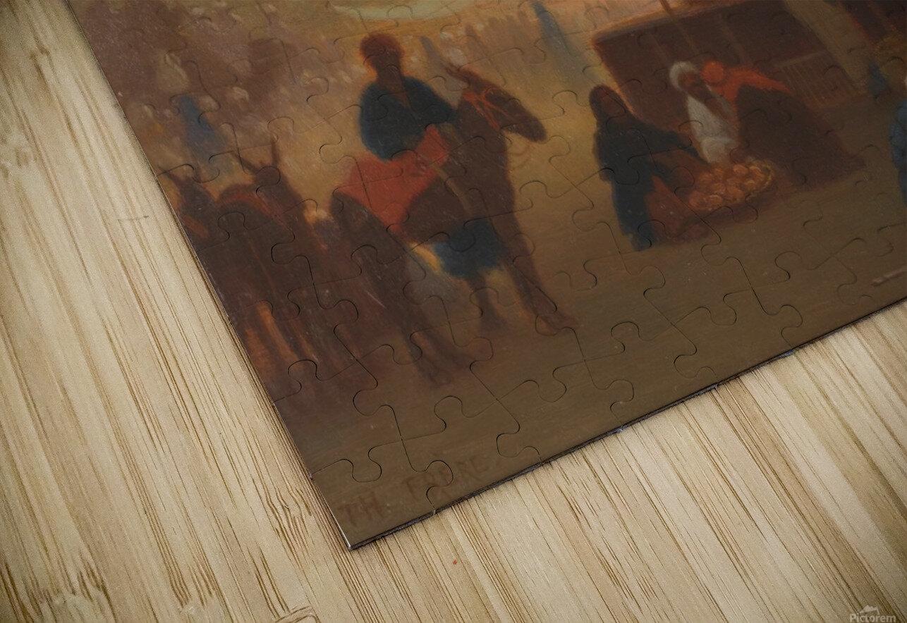 Marche au Caire HD Sublimation Metal print