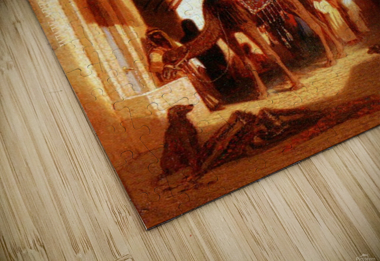 Street in Cairo HD Sublimation Metal print
