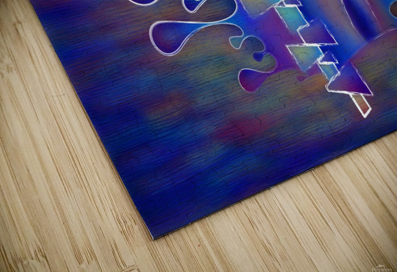 Grafenonci V5 - abstract butterfly HD Sublimation Metal print