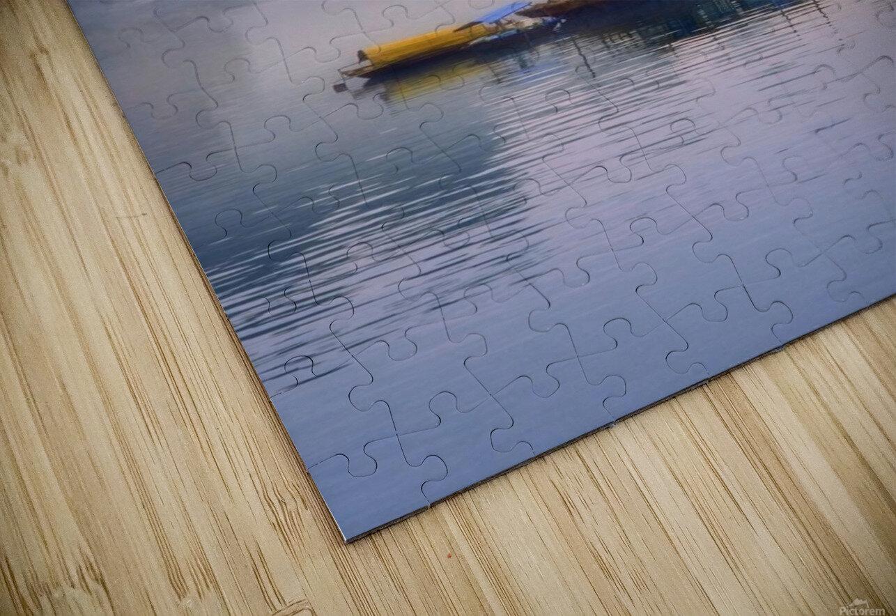 Junks On Halong Bay HD Sublimation Metal print