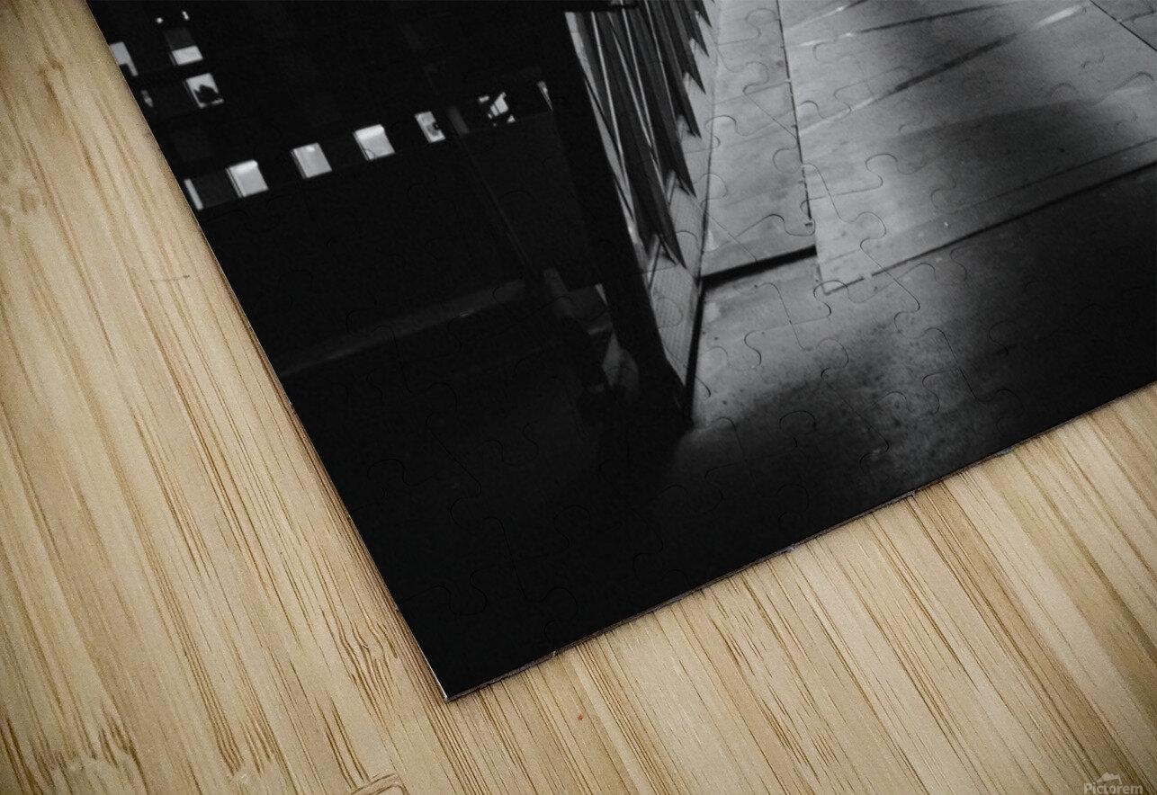 La Defense Paris HD Sublimation Metal print