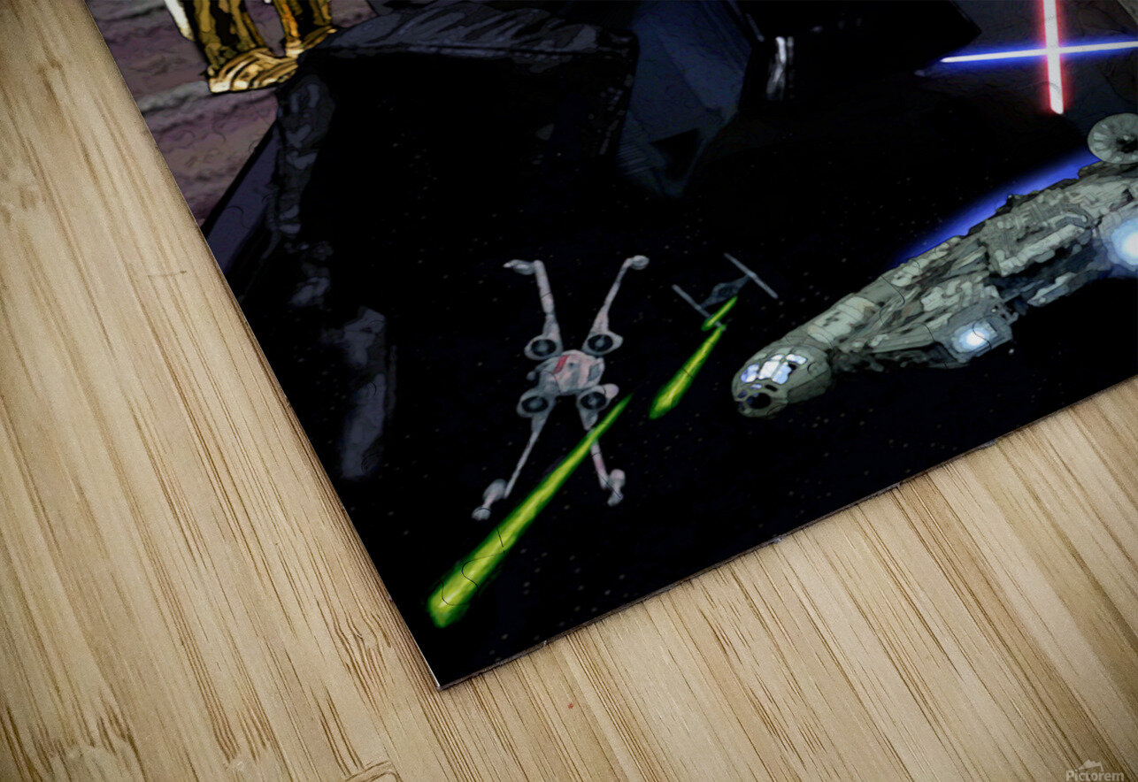Star Wars  HD Sublimation Metal print