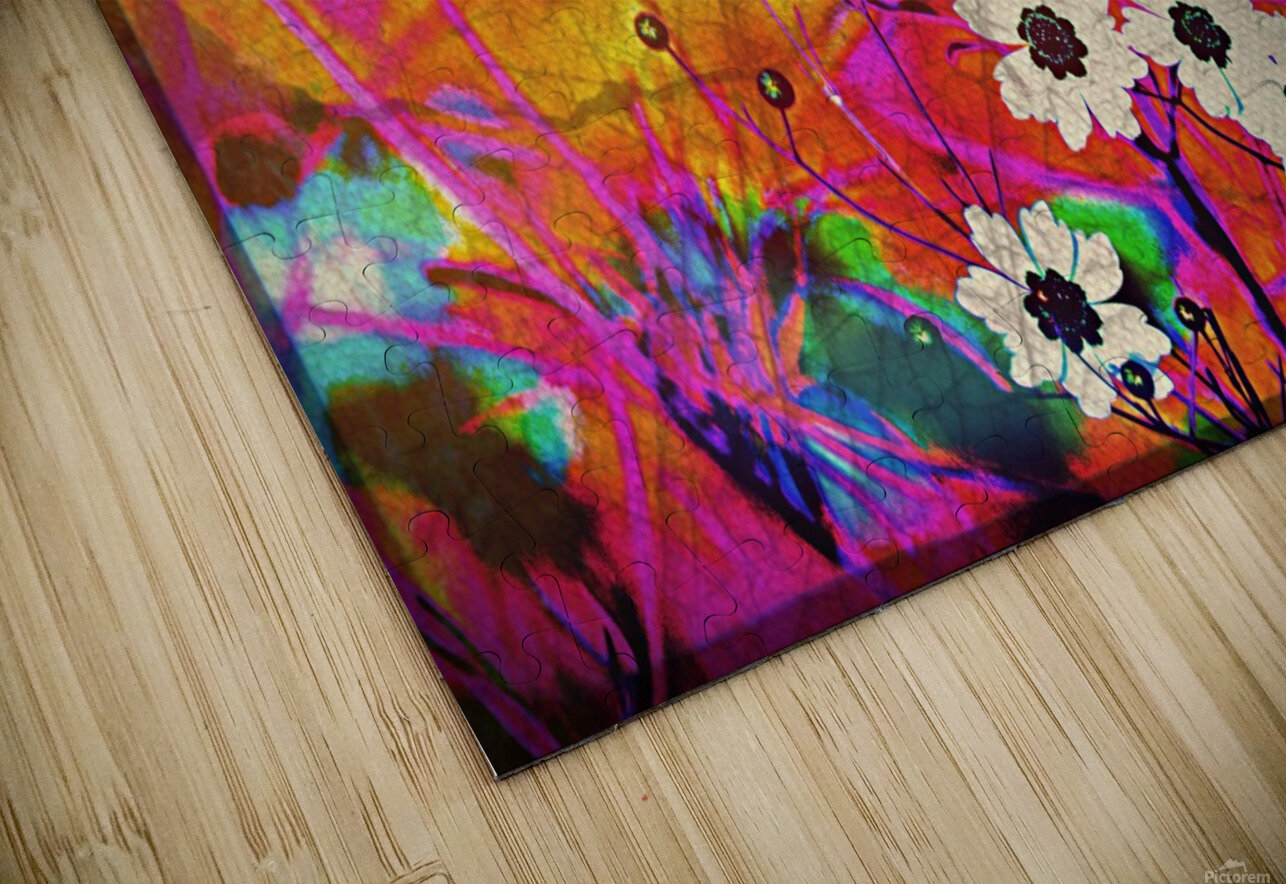 Fancy Weeds HD Sublimation Metal print