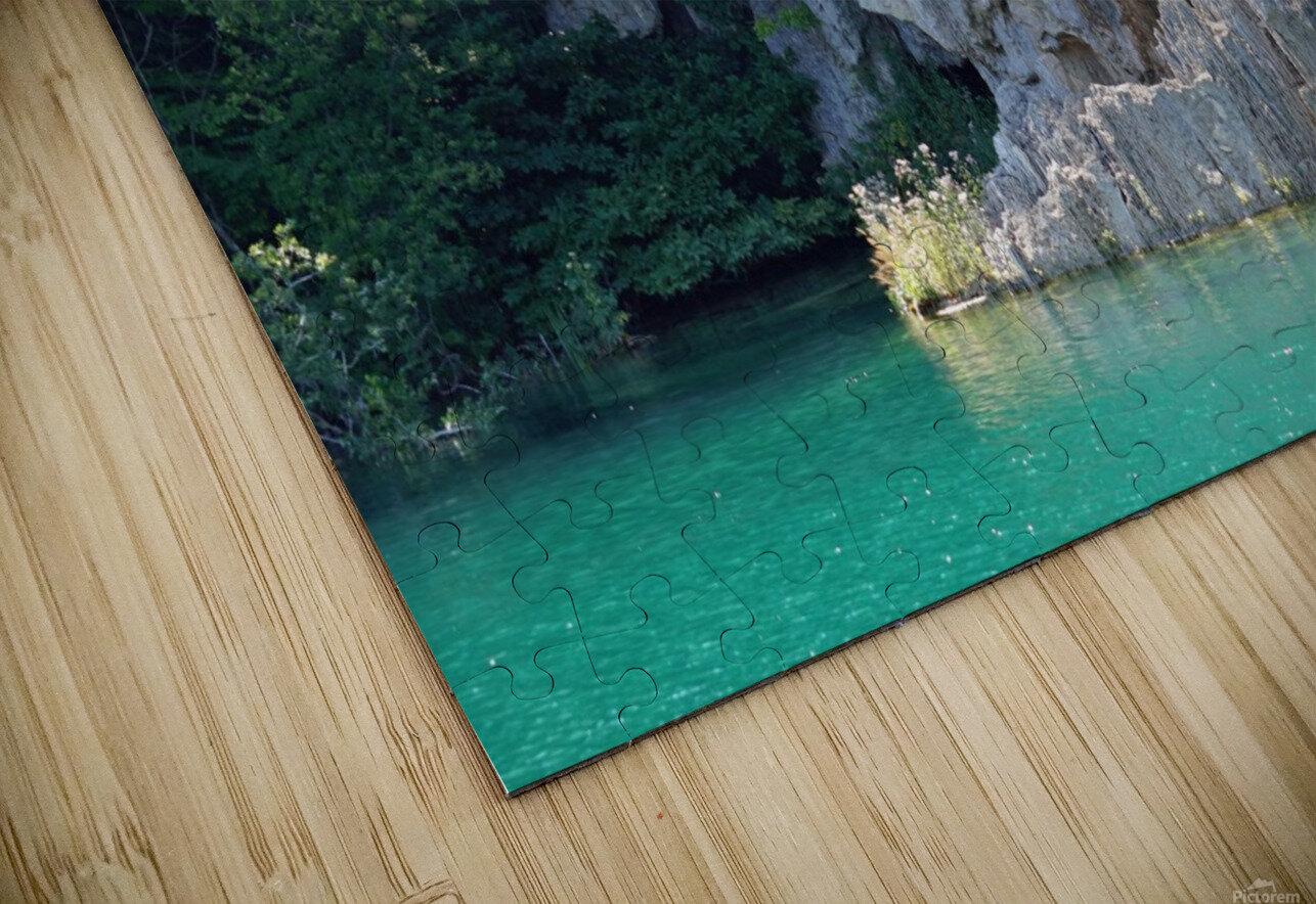 waterfall - Plitvicer lakes-nationalpark HD Sublimation Metal print