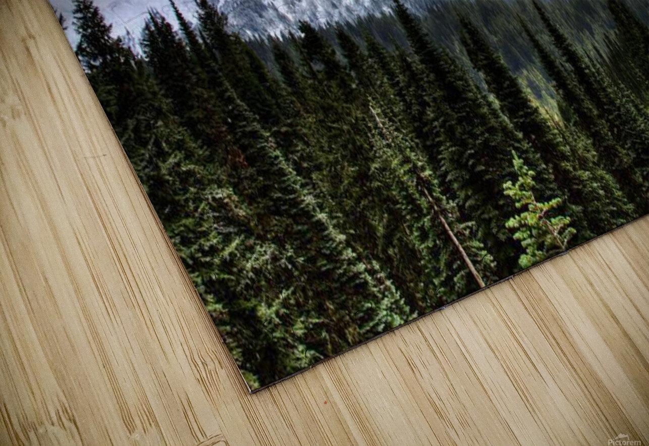 Storm Clouds, Mount Rainier, Pierce County, Washington HD Sublimation Metal print