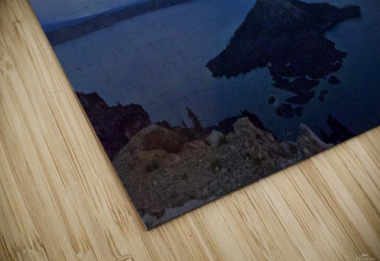 Perseid Over Crater Lake 8 11 2015 HD Sublimation Metal print