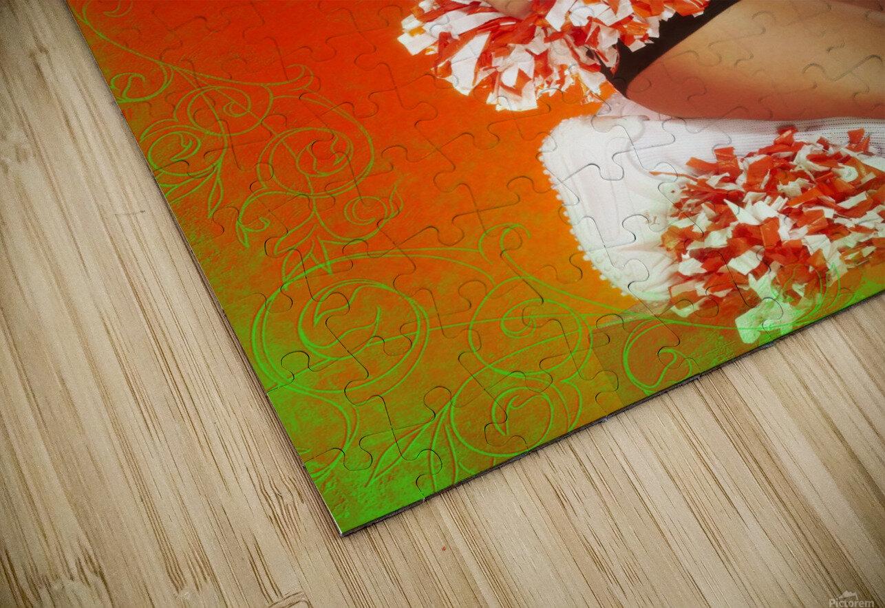 Lou Freeman©  Vintage Pin Up Girls 14622 HD Sublimation Metal print